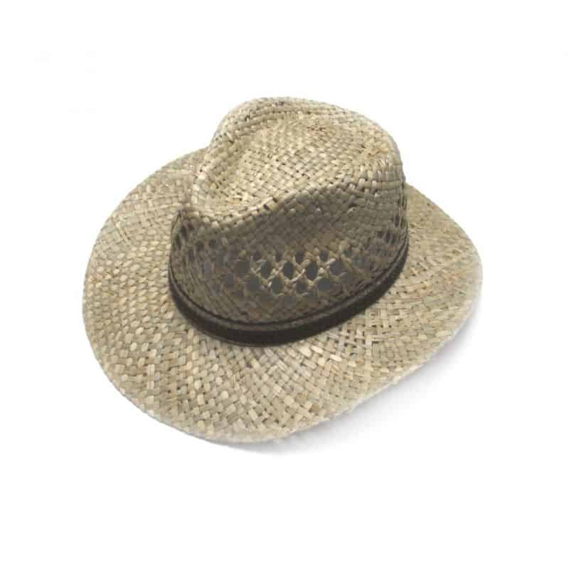 Panama cowboy paille taille 55
