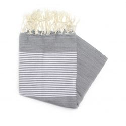 Fouta plate carthage Violette