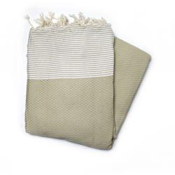 fouta XXL honeycomb sand grande XXL 14 200/300 cm 12,00€