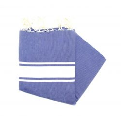 Fouta Essaouira blue Greek