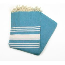 beach towel 2x2 m Saint Barth ocean blue Carthage XM 18 200/200