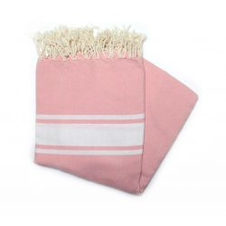 fouta 2x2 m classic old rose Carthage XM 20 200/200 10,00 €