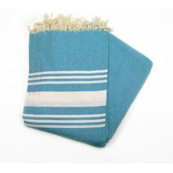 beach towel 1.5x2.5 m saint barth ocean blue large XL 24 150/250 cm