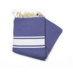 fouta 1.50x2.50 m classic blue Greek grande XL 19 150/250 cm 10,00€