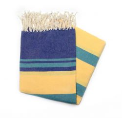 Fouta gabes blue green & yellow gabes 5 the colorful 4,50€