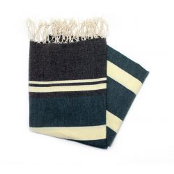 Fouta gabes black green & yellow gabes 4 colored ones