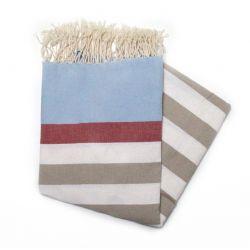 Beach towel kerouan red sky & havana