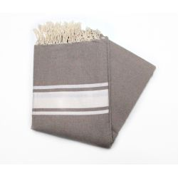 beach towel 1.5x2.5 m classic taupe