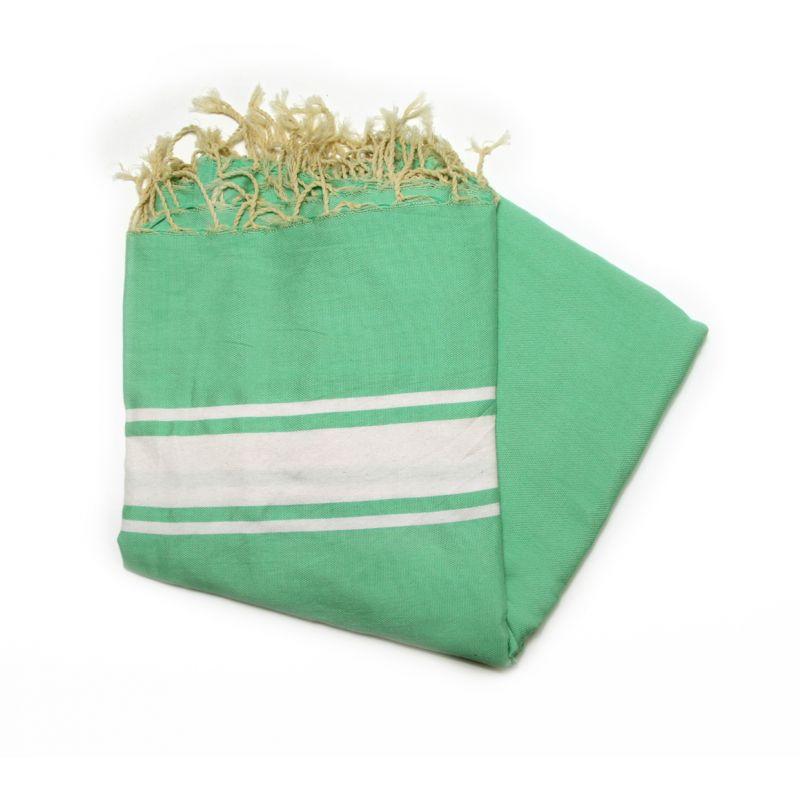 fouta 2x2 m classic green anise