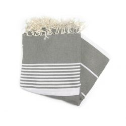 Fouta 2x3 m arthur medium gray