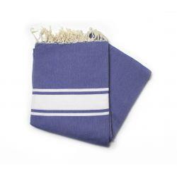 Fouta 2x3 m classic Greek blue